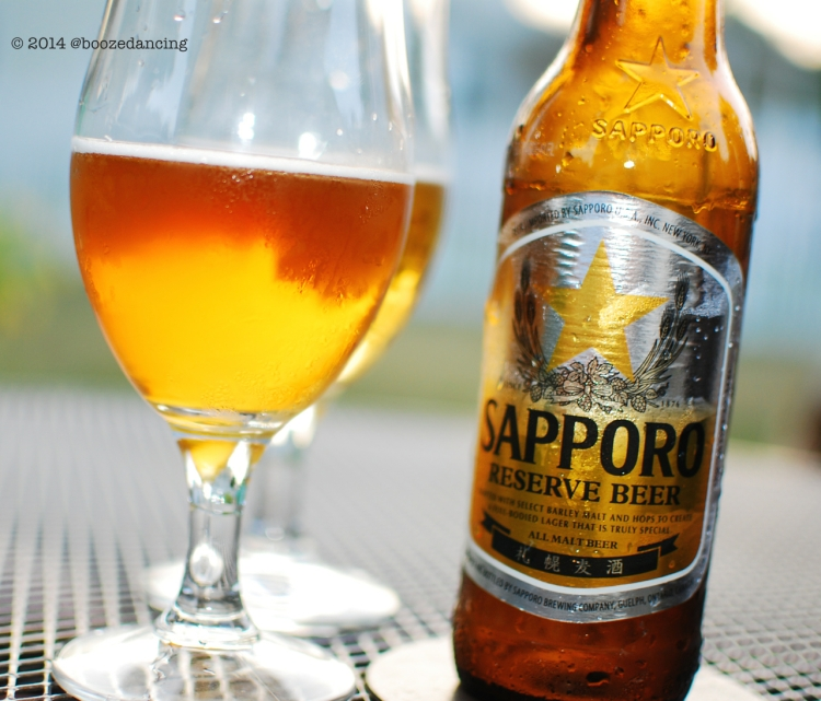Sapporo Reserve Beer