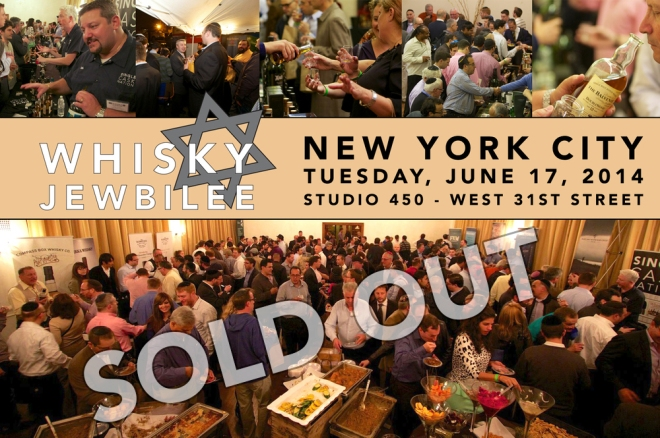 Whisky Jewbilee 2014 was SOLD OUT!