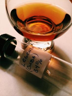 Legendario Rum Sample