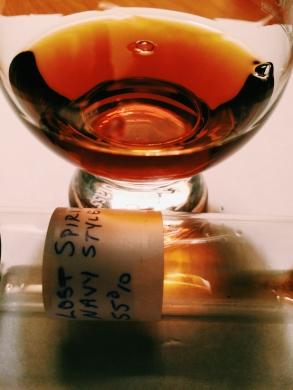 Lost Spirits Navy Style Rum 55% ABV