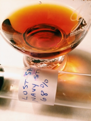 Lost Spirits Navy Style Rum 68% ABV