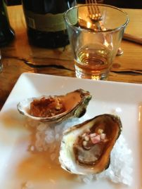 Oysters and Irish Whisky