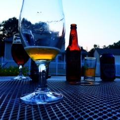 Patio Beers at Dusk