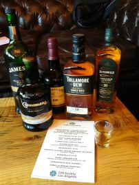 Tom Bergin's Irish Whisky Selections