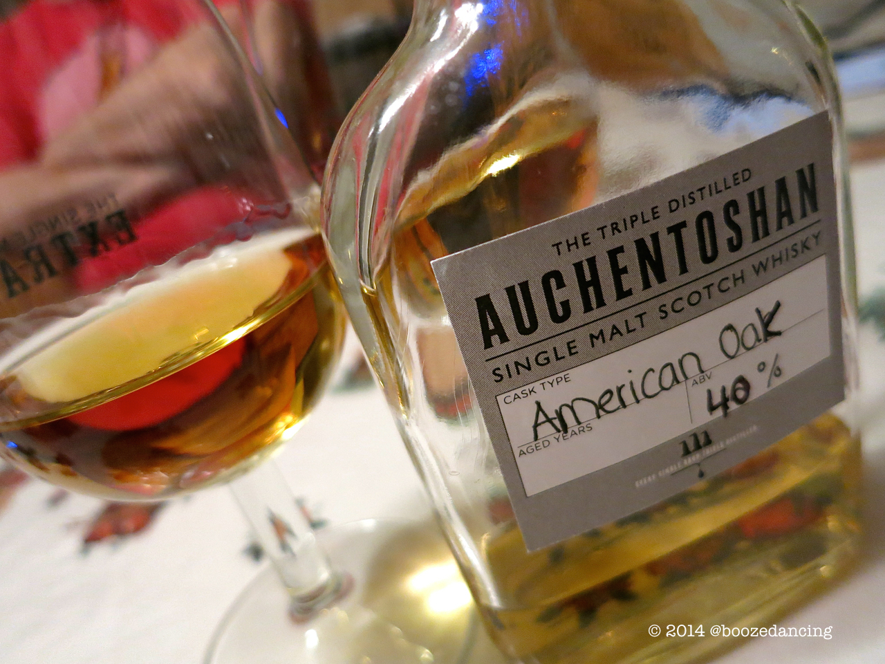Auchentashon American Oak With  Glasses