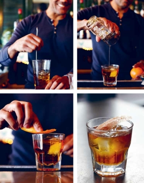 Dark Chocolate Old Fashioned