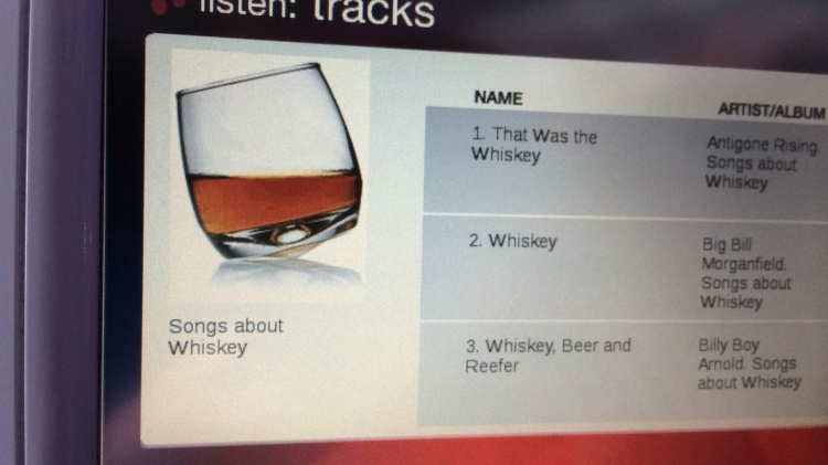 Songs About Whisky