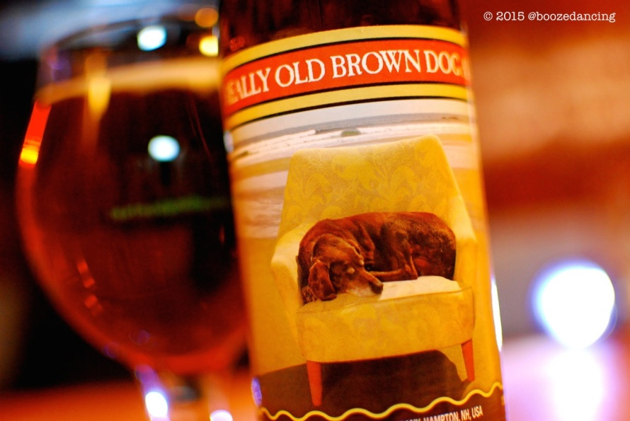 Smuttynose Really Old Brown Dog Ale