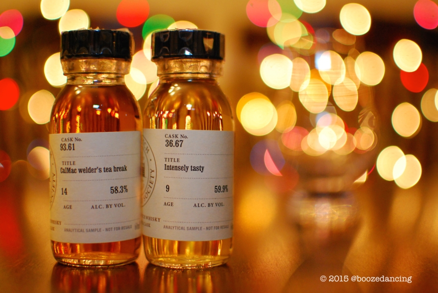 SMWS Cask No. 93.61 and 36.67