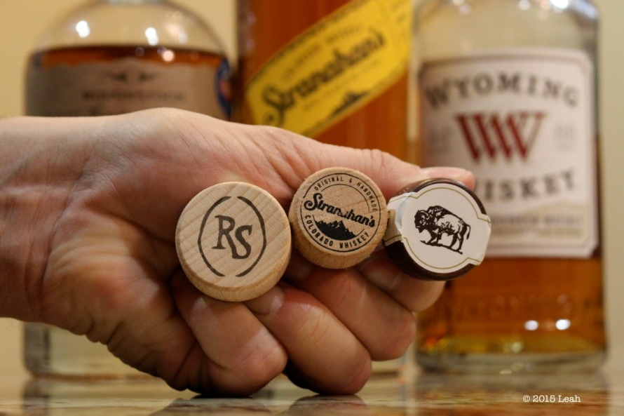 Rocky Mountain Whisky Bottle Tops