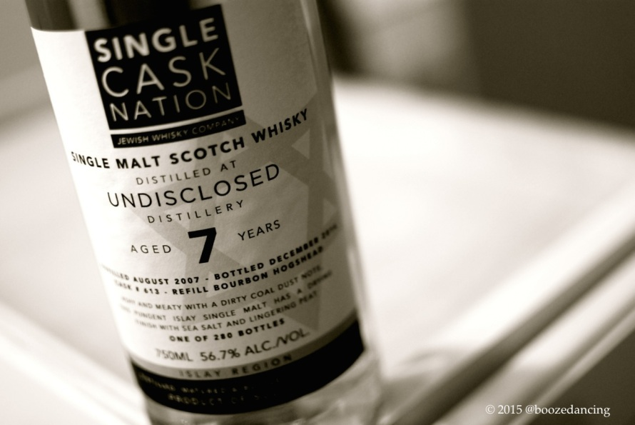 Single Cask Nation UNDISCLOSED 7 YO