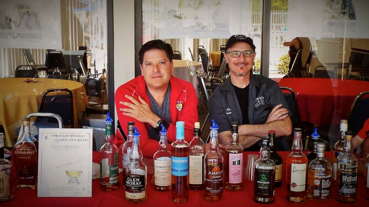 Lee and The WCO, Co-Founders of The South Bay Whisky Tribe