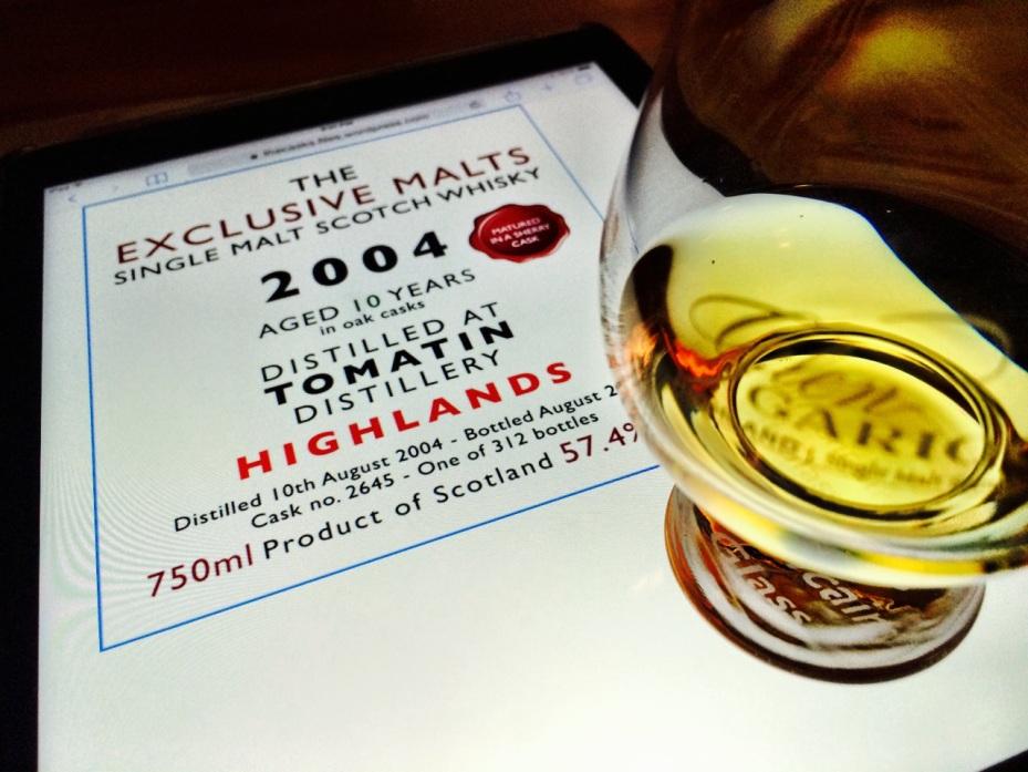 The Exclusive Malts 2004 Tomatin 10 YO