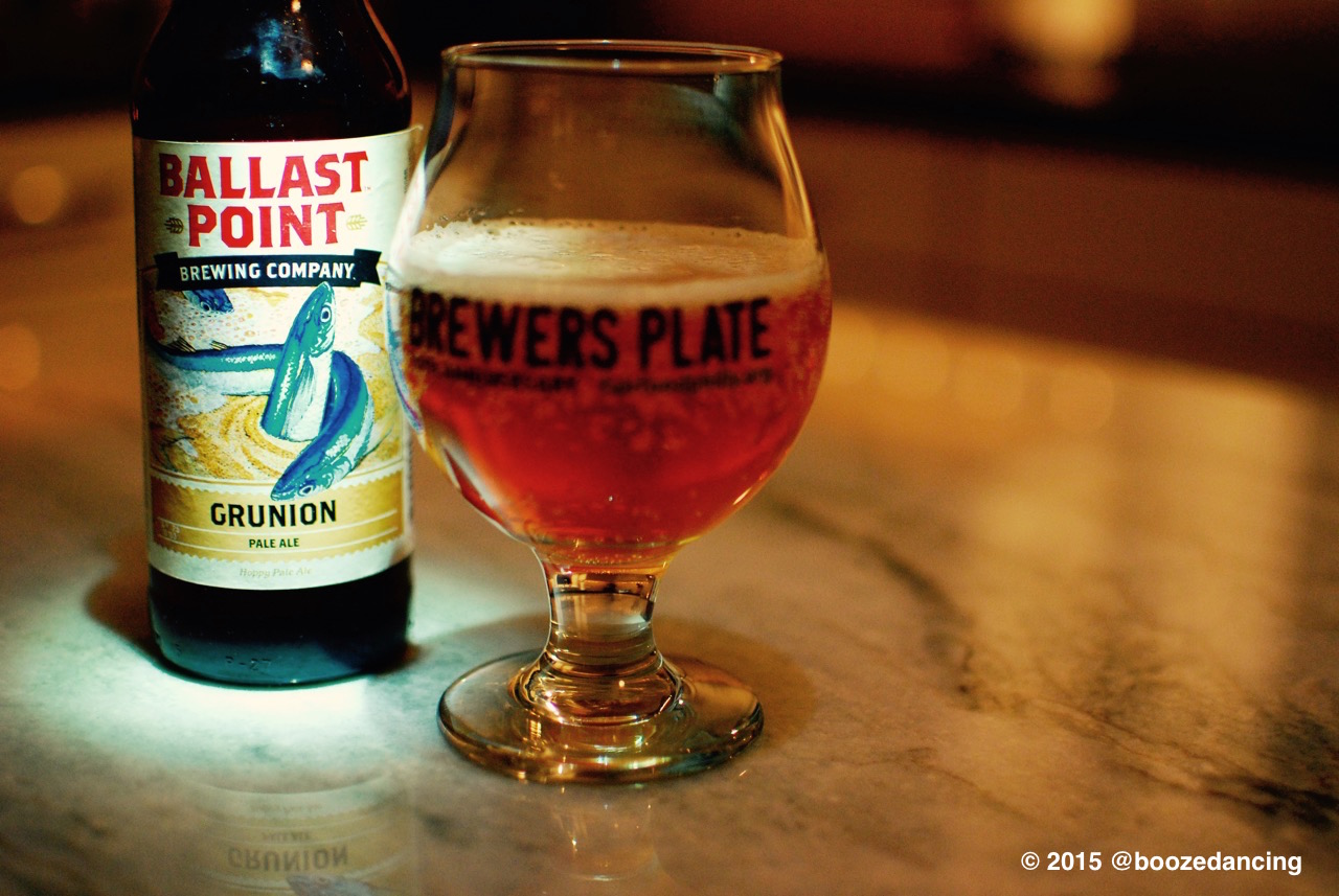 962ddd84c Beer Review – Ballast Point Grunion Pale Ale – It s just the booze ...