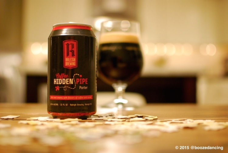 Raleigh Brewing Hidden Pipe Coffee Porter