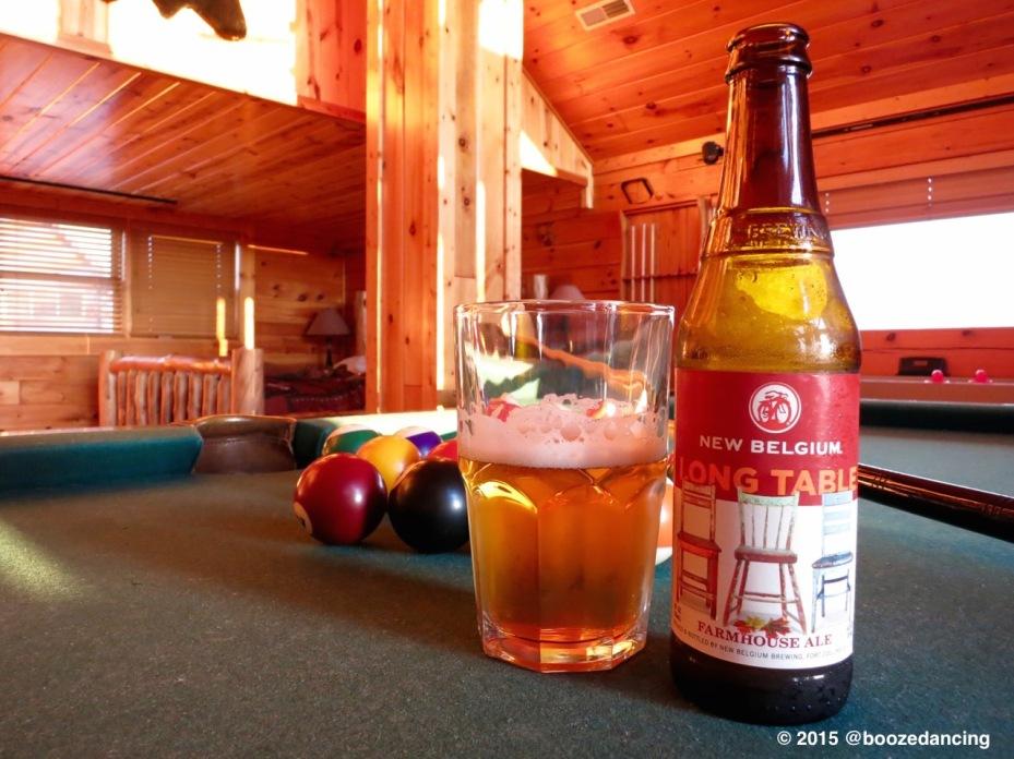 New Belgium Long Table Farmhouse Ale