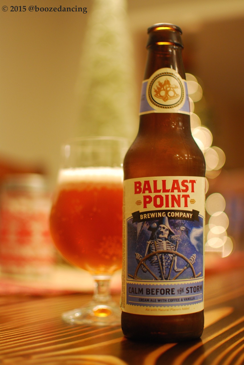 Here We Go Again >> Beer Review – Ballast Point Calm Before the Storm – It's just the booze dancing…