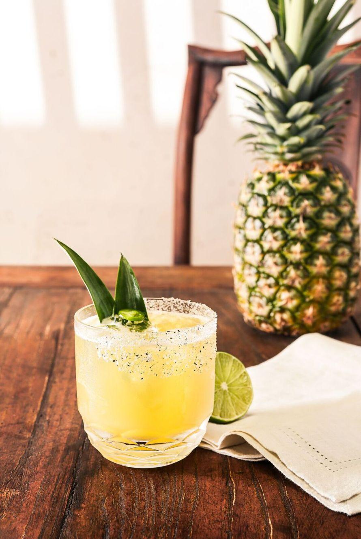 casamigos-pineapple-cilantro-margarita