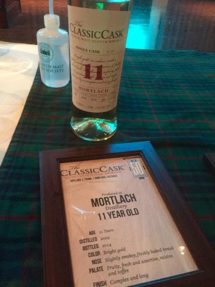 The Classis Cask Mortlach 11 YO