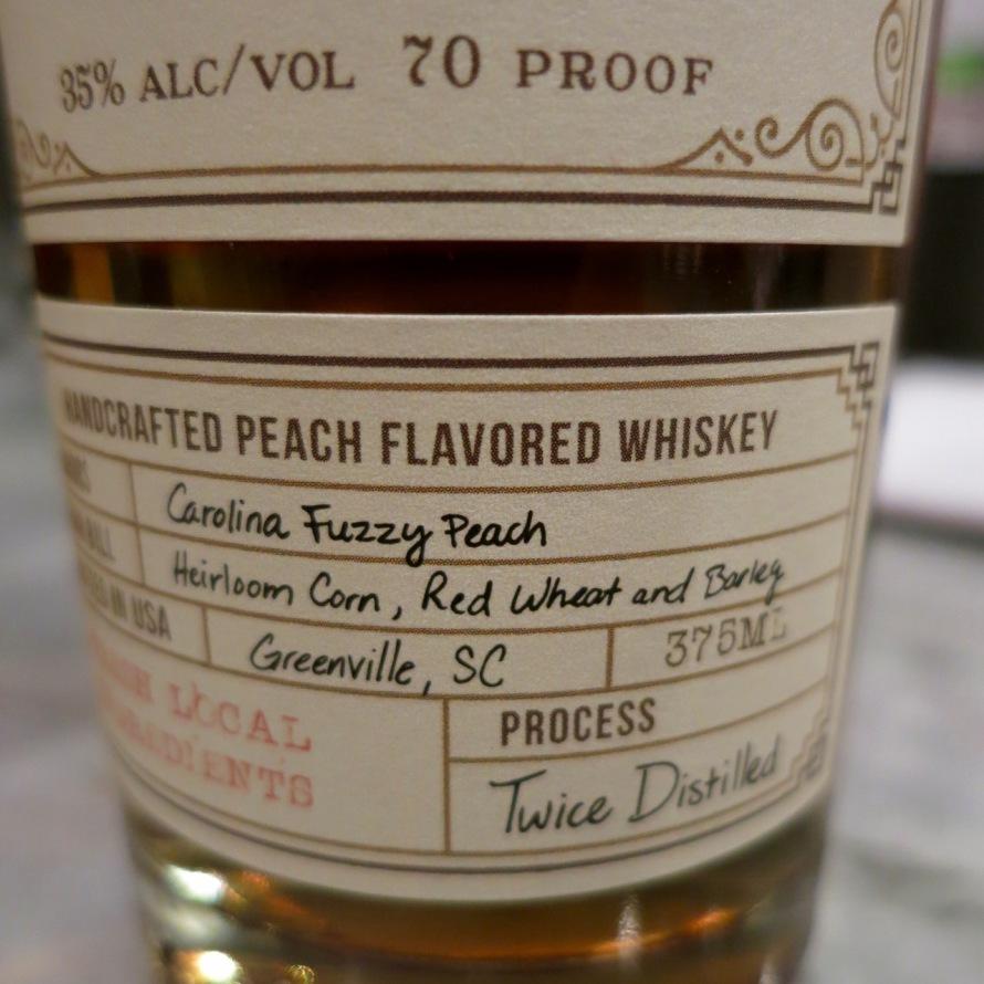Whiskeygirl Carolina Fuzzy Peach