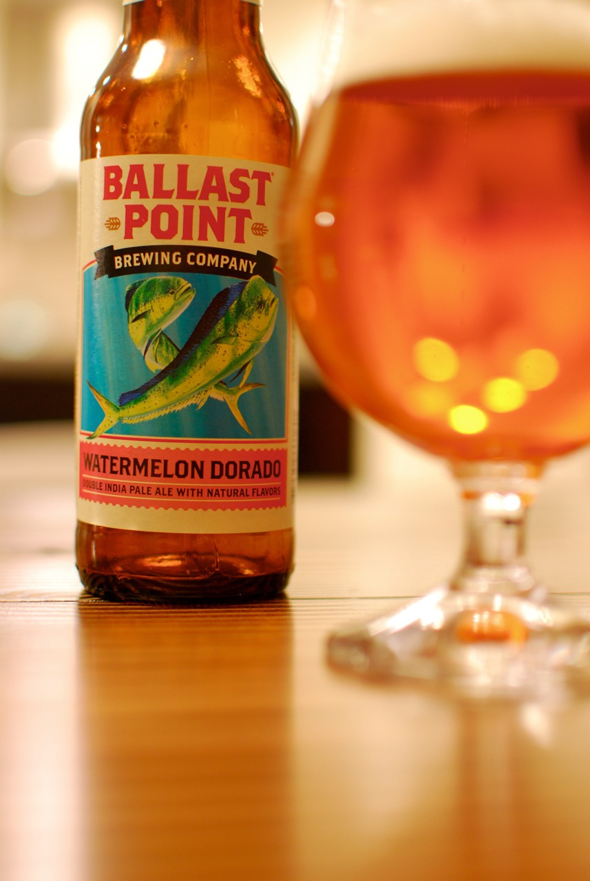 Ballast Point Watermelon Dorado DIPA