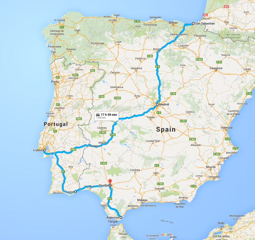 The Road to Seville