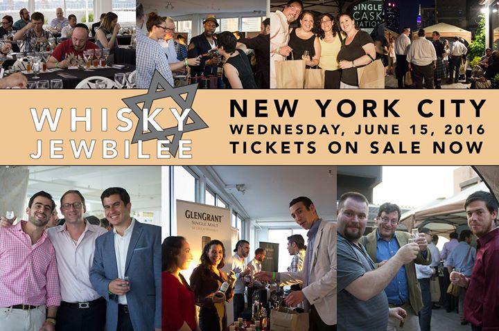 Whisky Jewbilee NYC 2016
