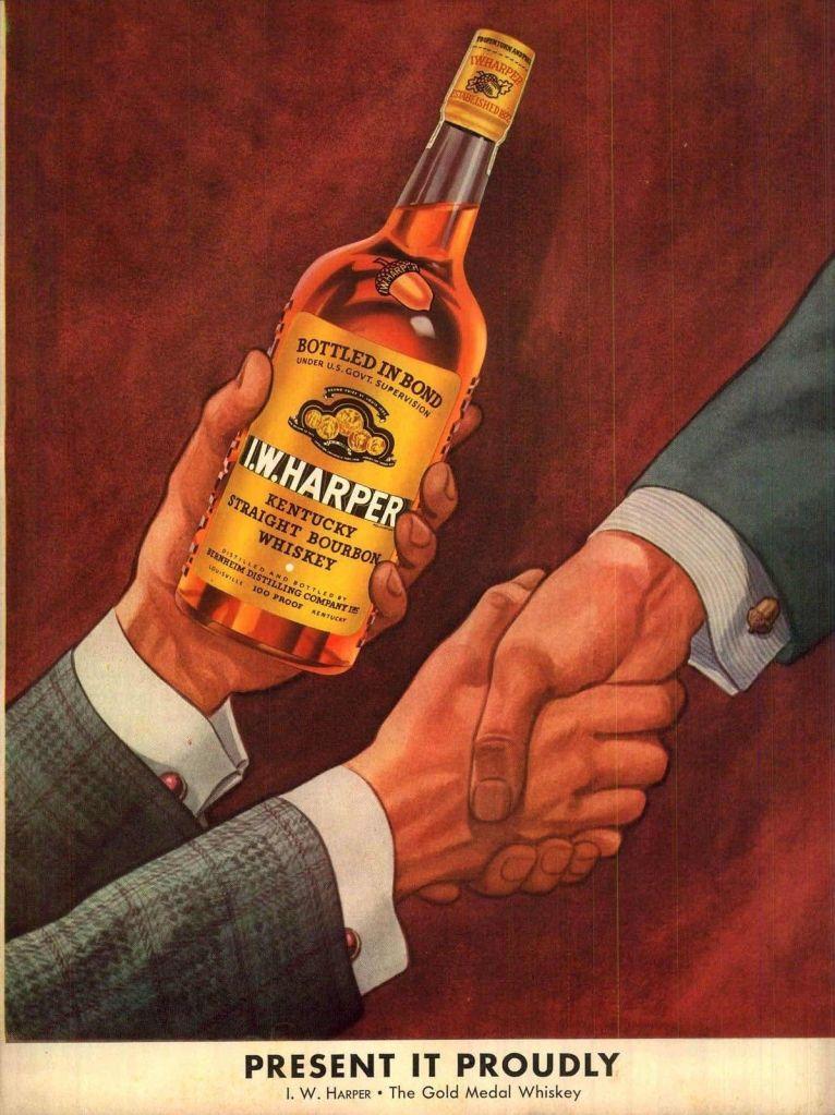 IW Harper Vintage Ad