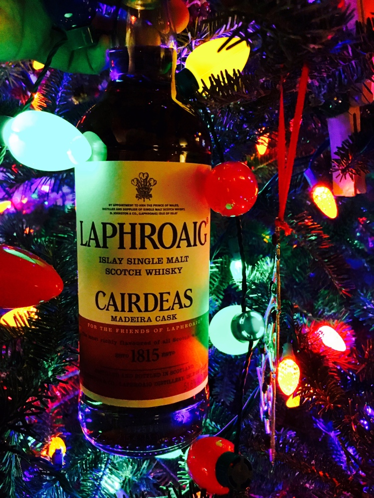 G-LO liked this whisky so much that he asked Santa for a bottle. I guess he wasn't as bad as we thought in 2016, because Santa obviously granted his wish.
