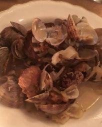 Clams & Italian Sausage