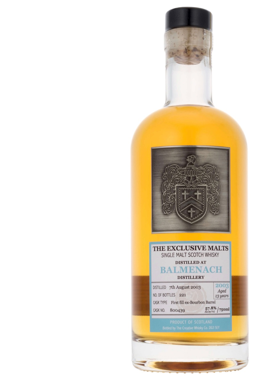 Whisky Review – The Exclusive Malts Balmenach 2003, 13 Years Old ...
