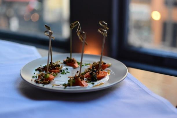 Carrot Semifreddo w/ Salted Pistachio