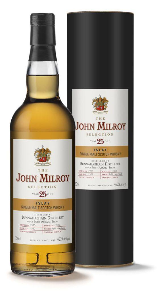 121db182a Whisky Review – The John Milroy Selection Bunnahabhain 1990
