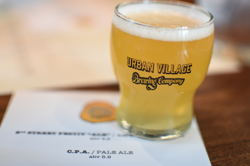 Urban Village Brewing Co, Dinner with the Owners - 3