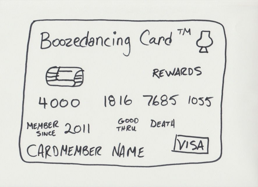 Boozedancing Card