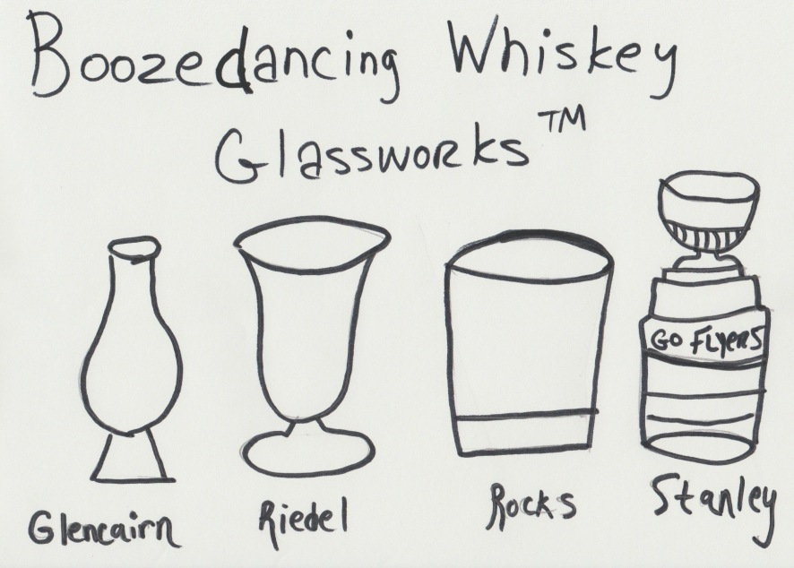 Boozedancing Whiskey Glassworks TM