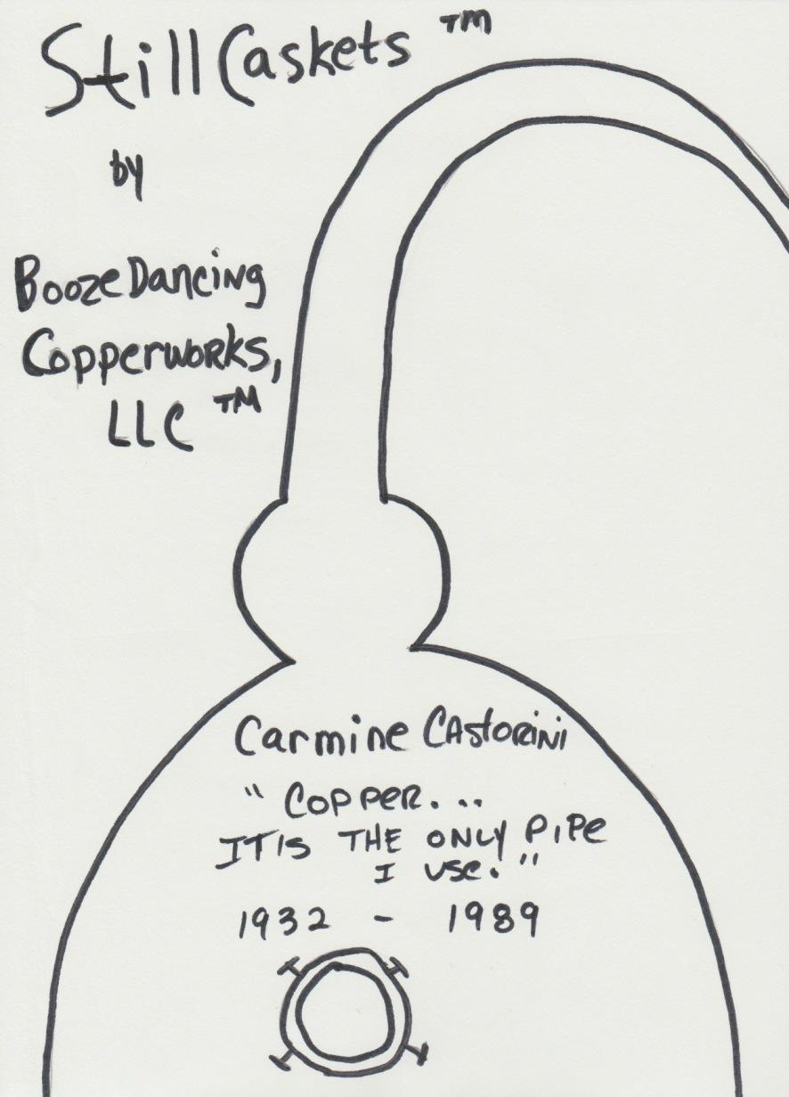 StillCaskets by Boozedancing Copperworks LLC