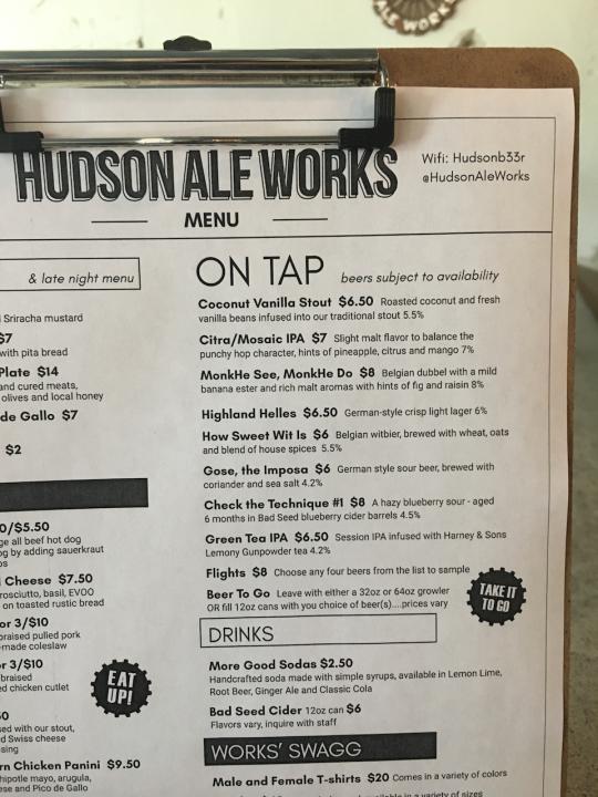Hudson Ale Works - 1