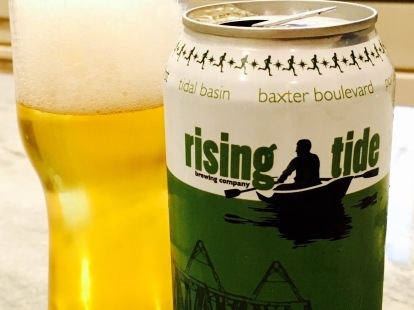 Rising Tide Back Cove Pilsner - 1