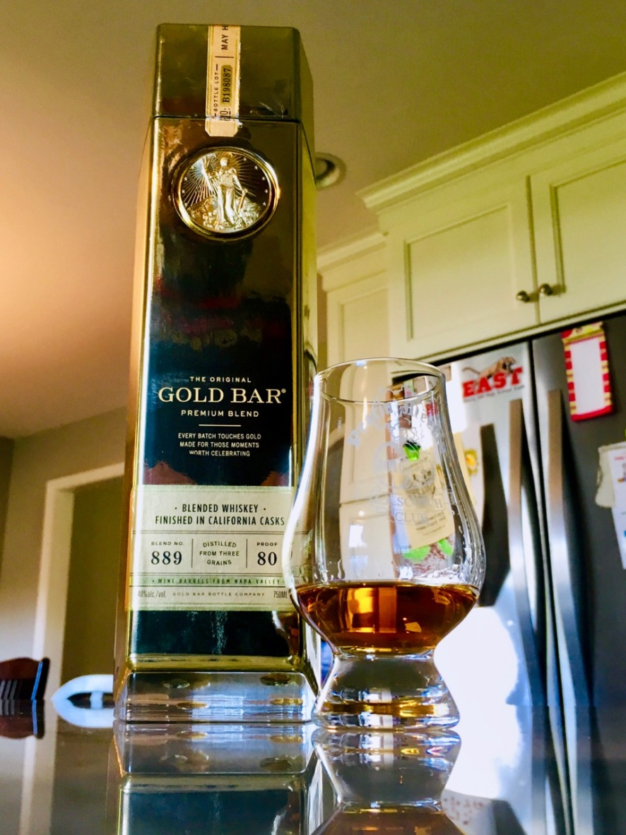 Gold Bar Whiskey - 1