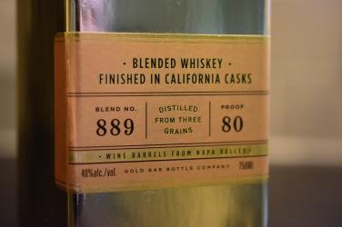 Gold Bar Whiskey - 3
