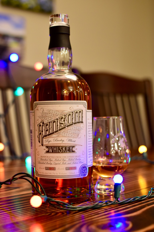 Ransom Rye Barley Wheat Whiskey - 1