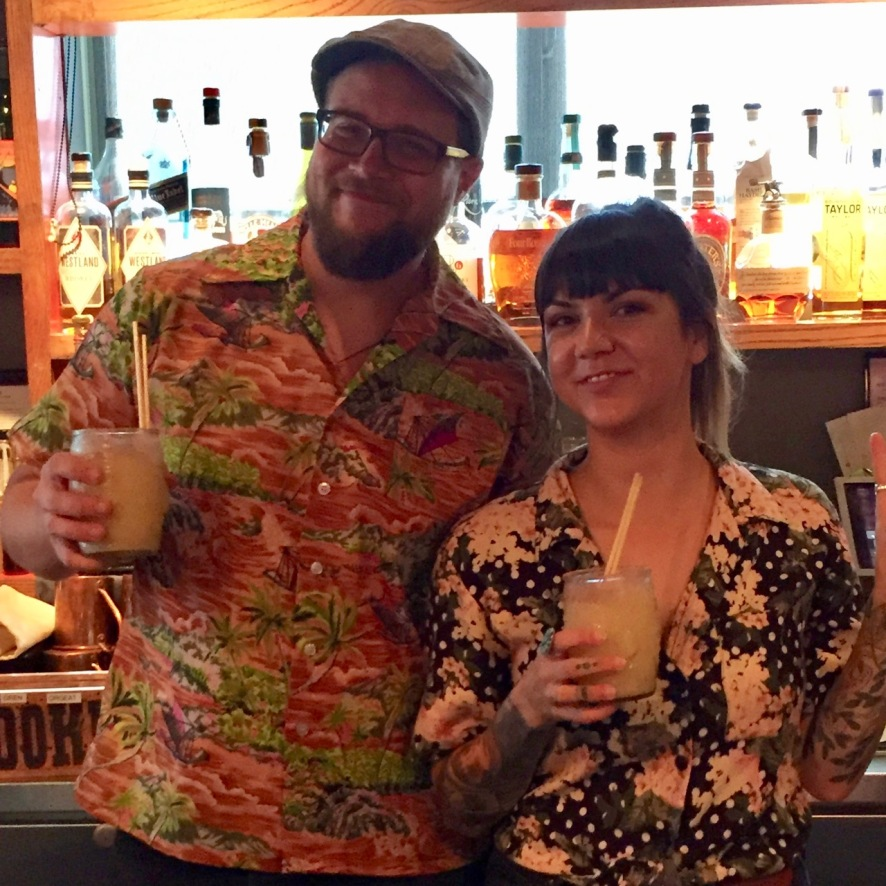 Chief Tiki Tae and Jessica Souza, Our Professors for TIKI 101
