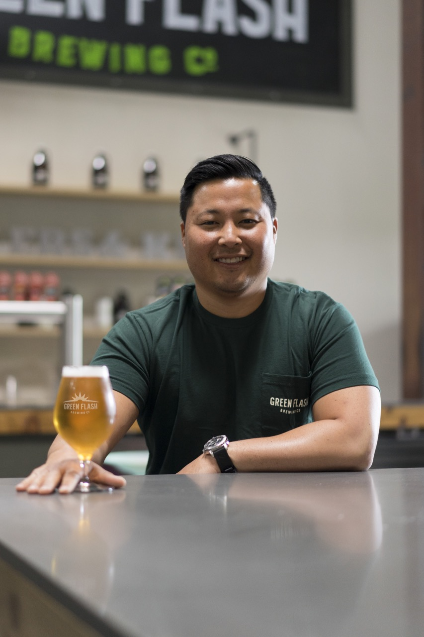 Ben Widseth, VP of Marketing at Green Flash Brewing Co.