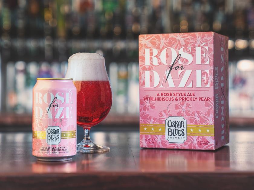 Beer Review – Oskar Blues Rosé for Daze