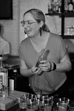 Whiskey Bonanza 2019 at The Twisted Tail in B+W - 1