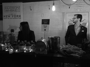 Whiskey Bonanza 2019 at The Twisted Tail in B+W - 10