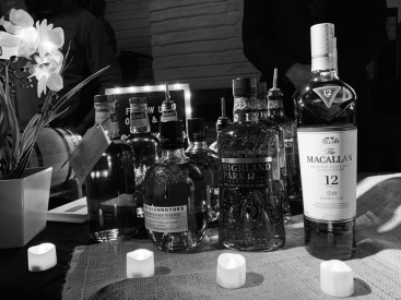 Whiskey Bonanza 2019 at The Twisted Tail in B+W - 12