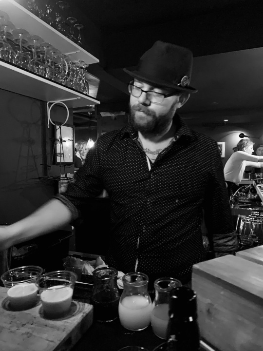 Whiskey Bonanza 2019 at The Twisted Tail in B+W - 13