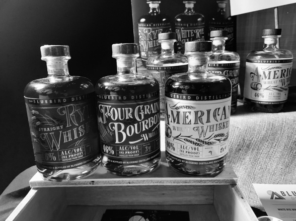 Whiskey Bonanza 2019 at The Twisted Tail in B+W - 14